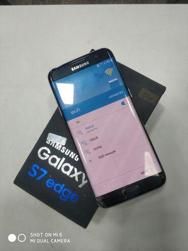 1057 elan: Samsung Galaxy S7 Edge | 32 GB | Qara | Sensor, Barmaq izi, İki sim kartlı