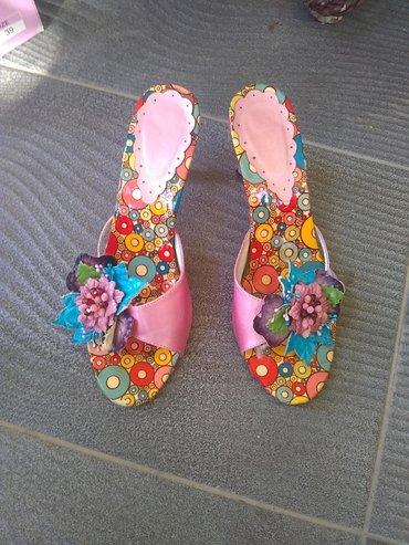 Poklon - Srbija: Maturske papuče poklon sandale obe 37