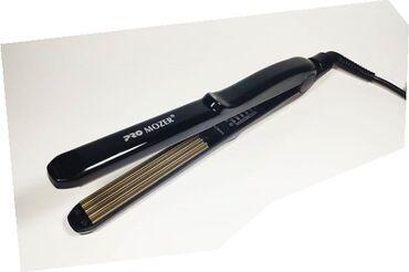 Стайлер от PROMOZERКерамические гофрированные щипцы для завивок волос
