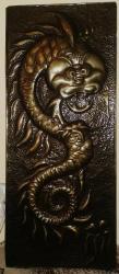 Другие предметы коллекционирования в Кыргызстан: Продается «Дракон» - чеканка, металл – 1 шт – 2000 сом. Ручная