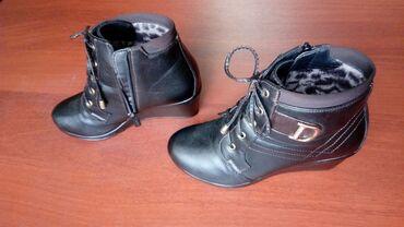 Ботинки - Кок-Ой: Туфли и полусапожки демисезонные и утеплённые 36-37 размер