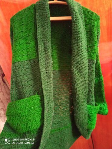 вязаные платья на лето в Кыргызстан: Вязаные кардиганы, размер 46-48 . Ручной работы,новые