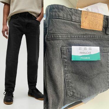 Мужские джинсы Pull&bear Турция 100% оригинал, из Турции. Прямые