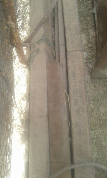 Продаю трубы.стойки остатки  стройматериала в Бишкек