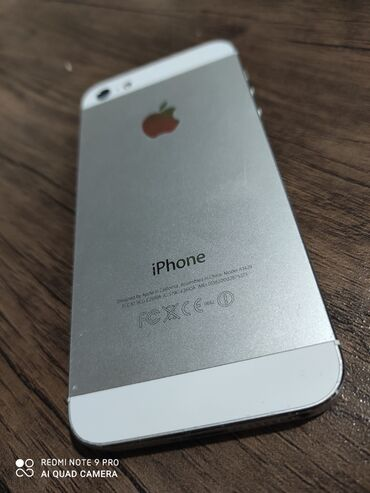 iphone 5 c в Азербайджан: Б/У iPhone 5 16 ГБ Белый