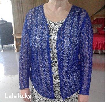 Ажурная кофточка- размер 48-50 в Бишкек