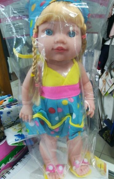 """Кукла """" Саша """" новая продается за 600с блондинка . Лучший подарок"""