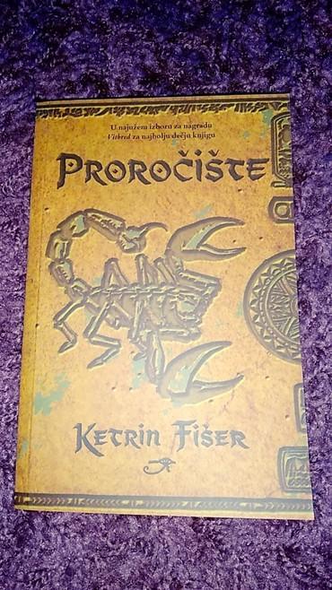 """Na prodaju knjiga """"Proročište"""" Ketrin Fišer... Nova... Opis na - Cuprija"""