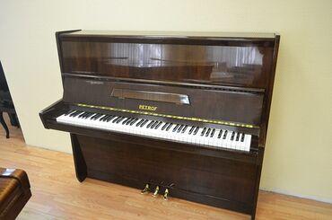 Пианино, фортепиано - Кыргызстан: Petrof(импортный) 1700$-3 педали(медные)-настроенный на