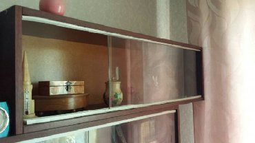 книжные полки бишкек in Кыргызстан | ШКАФЫ, ШИФОНЬЕРЫ: Продаю три книжные полки. Есть стекла. Состояние отличное. Цена 400