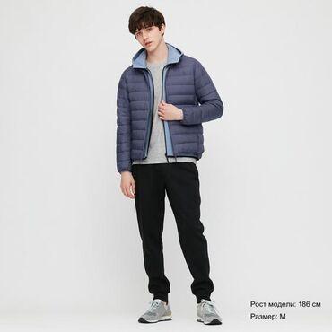 куртки uniqlo в Кыргызстан: Новая куртка Uniqlo, размер L.темно -синяя.Не подошла по размеру.Цена