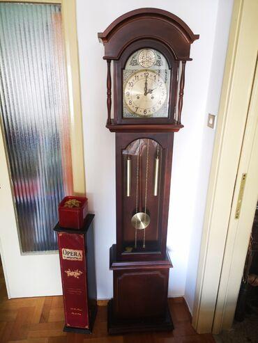 Ρολόι ξύλινο δαπέδου εκκρεμές ολοκαίνουργιο σε άριστη κατάσταση. Με τα