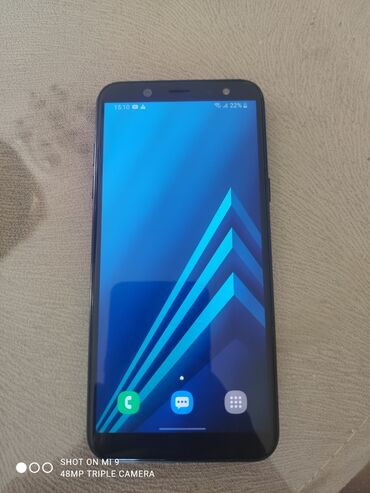 samsung a6 qiymeti bakida в Азербайджан: Б/у Samsung Galaxy A6 32 ГБ Черный