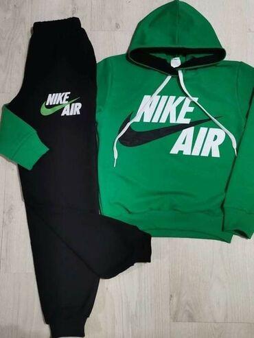 Nike Air kompletići1700 dinBrušeni pamuk,donji deo futrovan,gornji deo