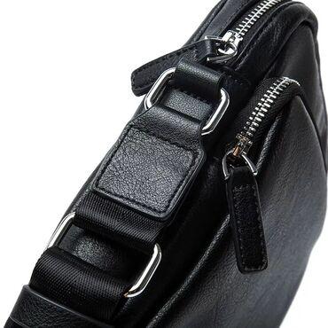 сумка в Кыргызстан: Модная мужская сумка из итальянской экокожи +бесплатная доставка по