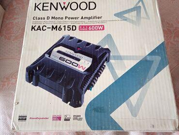Электроника - Чолпон-Ата: Продаю моноблок Кенвуд в отличном состоянии выходная мощность 2-200