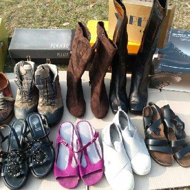 Ženska obuća | Gornji Milanovac: 9 pari ženske obuće