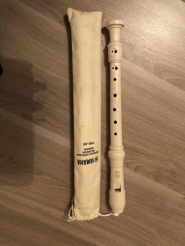 Флейты - Азербайджан: Yamaha YRS-23, Soprano/Descant Recorder GermanAlmaniyadan gəlib heç