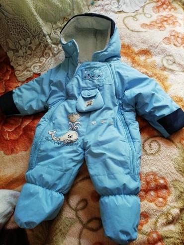 детские комбинезоны на 3 года в Кыргызстан: Зимний детский комбинезон. До года Ножки не отстегиваются