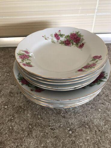 Тарелки для супа большие и маленькие по 5 шт 20 м