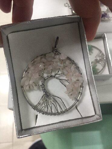 Jewellery Sets - Srbija: Privezak roze kvarc