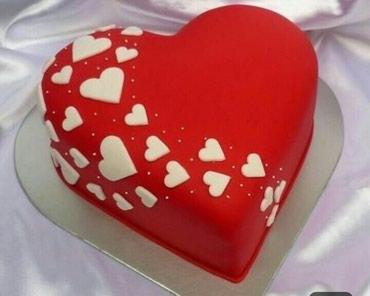 Bakı şəhərində Tort gabagdan 14fevral gelir.hediyye axtarirsiz.buyurun sevdiyinize