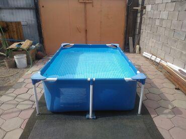 продам бассейн in Кыргызстан | БАССЕЙНЫ: Продам каркасный бассейн фирмы INTEX. Размер: 220/150/60 см
