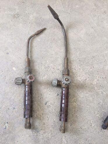 Другие инструменты - Сокулук: Одна горелка стоит 1000 и 3 резака один 1000