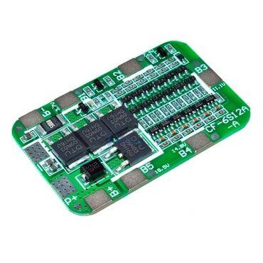 зарядное устройство 18650 в Азербайджан: Bms 6S 15A Balansir 18650 Li-ion 22.2v-24v