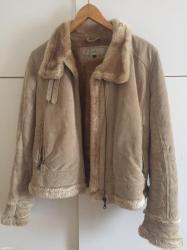Bata zimska jakna od prevrnute koze velicina m - Nis