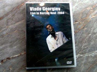 dvd vlado georgijev live - Beograd