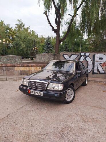 черный mercedes benz в Кыргызстан: Mercedes-Benz W124 2.3 л. 1992 | 250000 км