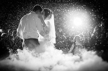 Тяжелый дым на свадьбу в Бишкеке в Бишкек
