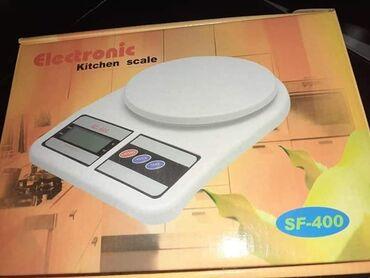 Digitalna kuhinjska vaga, meri od 1g do 10kg, radi na dve baterije ko