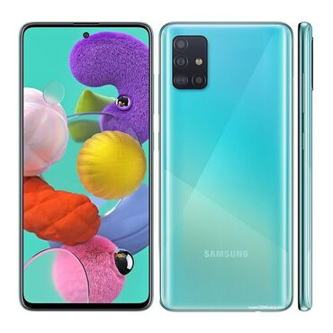 Samsung A51   64 GB   göy