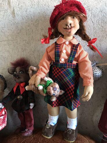 Интерьерная кукла «озорница»