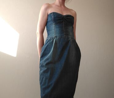 Personalni proizvodi | Ruma: Mango teksas haljina, kao nova. S/M/L velicina. Duzina 77 cm