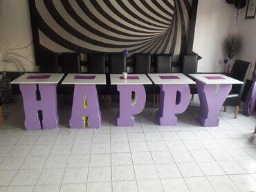 Nameštaj - Vrsac: Happy stolovi za igraonice ili slatki sto