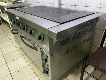 промышленная соковыжималка бишкек in Кыргызстан   СОКОВЫЖИМАЛКИ: Срочно продаётся  Плита электрическая промышленная с жарочным шкафом