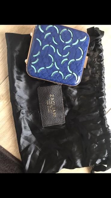 Od koze torbica - Srbija: Zagliani piton clutch torbica od koze pitona mini super šik torba