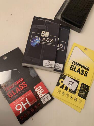 Защитные стёкла - Кыргызстан: Защитные стекла на айфон 6-6с