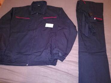 Bez pantalone broj - Srbija: Novo radno odelo br 62. bluza i pantalone . veličina 62. bez