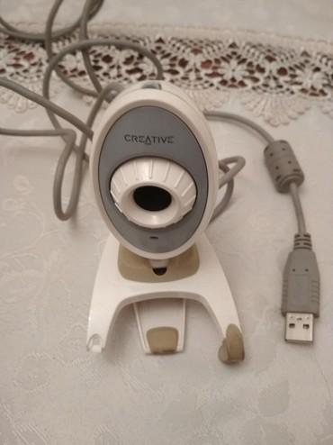 Veb-kameralar Azərbaycanda: Creative Labs VF 0040 Web kamera. İşlək vəziyyətdədir