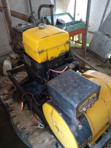 прицеп автомобильный бу в Кыргызстан: Продаю дизельные генераторы б/у,от 4 килловат до 15килловат.цена