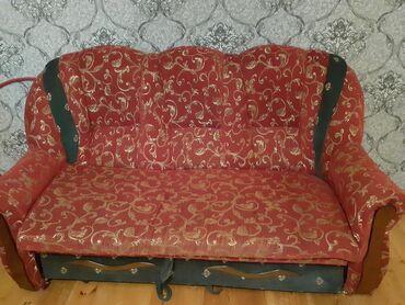 divan satilir в Азербайджан: Комплекты диван и кресло | Раскладной | 2 кресла