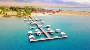 Отдых на Иссык-Куле в Кыргызстан: Сдаются коттеджы на 8-10 чел ЦО Лазурный Берег