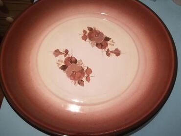 Блюдо эмалированное, новое, диаметр 40 см, 1000 сом