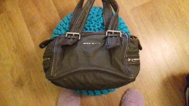Miss sixty original torba sive boje(rucke izgrebane,mogu da se ofarbaj - Kragujevac