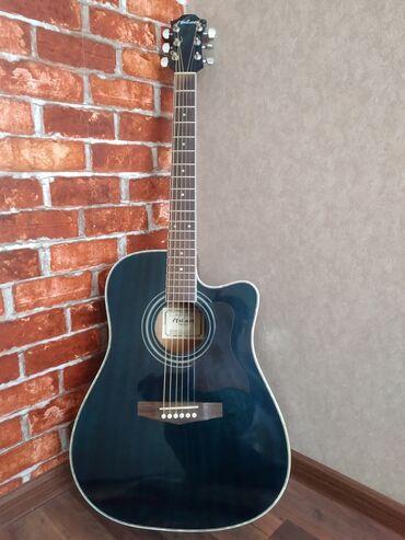 Спорт и хобби - Джалал-Абад: Продается электроакустическая гитара HOHNERВ комплекте:Сама