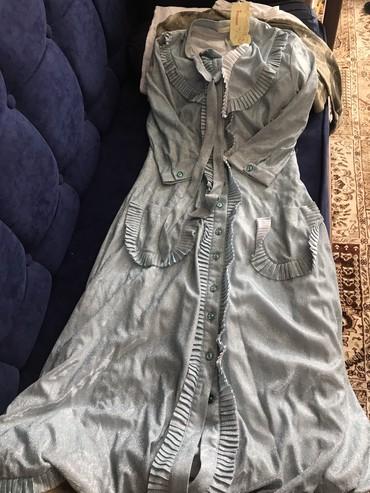 турецкое платье халат в Кыргызстан: Красивое стильное турецкое платье халат! С/м размер!